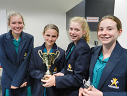 Year 9 Readers Cup Win